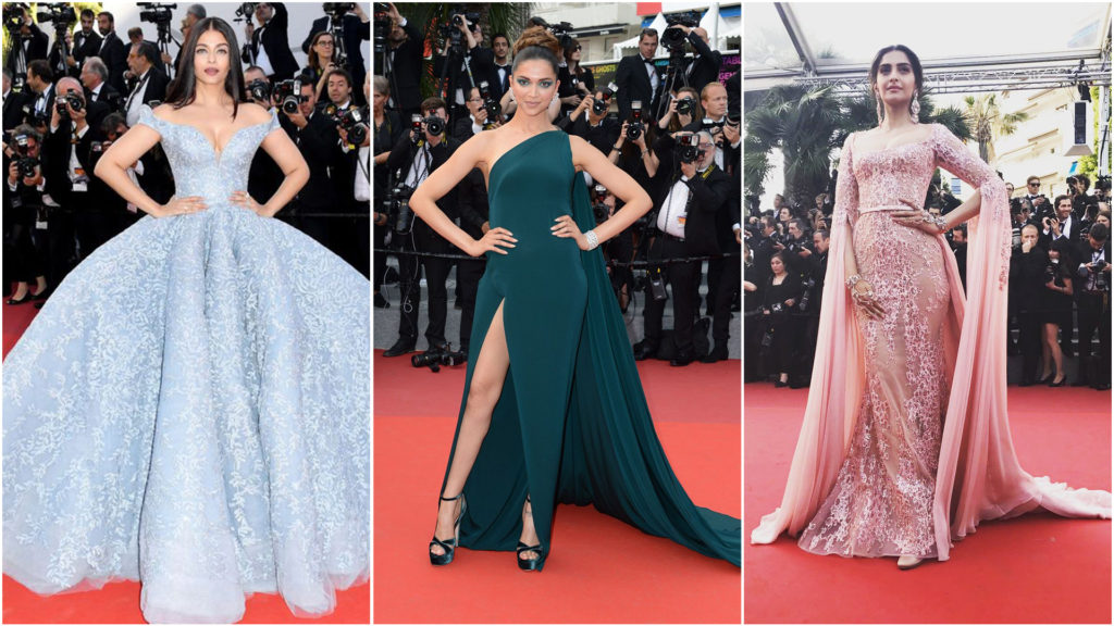 Bollywood Beauties At Cannes 2017 Fasionate